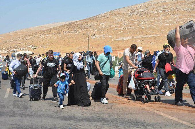 44 bin Suriyeli ülkesine gitti