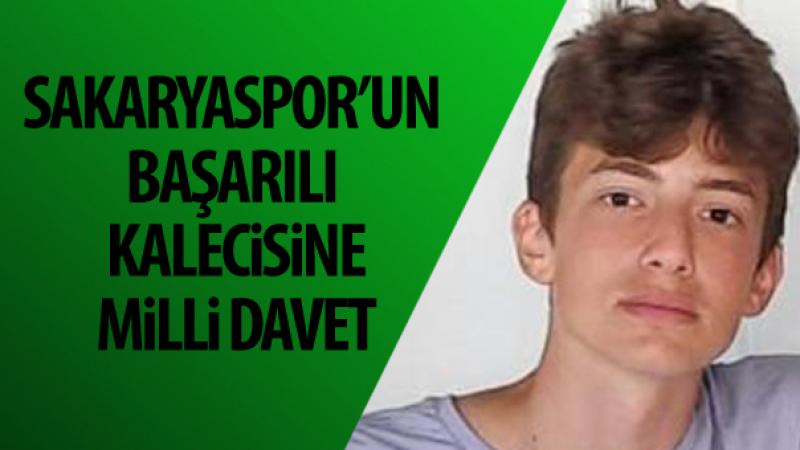 Sakaryaspor'un başarılı kalecisine milli davet