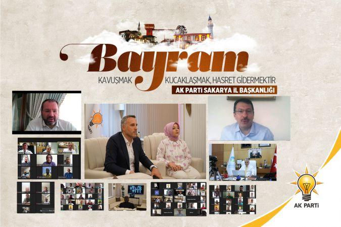 AK Parti İl Teşkilatı bayramlaştı