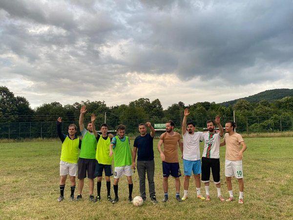 Kışlaçay gençlerinden futbol turnuvası