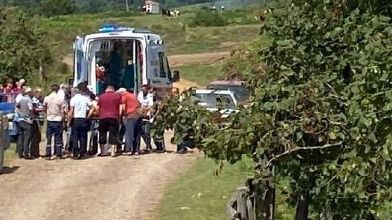 Karasu'da korkunç kaza!