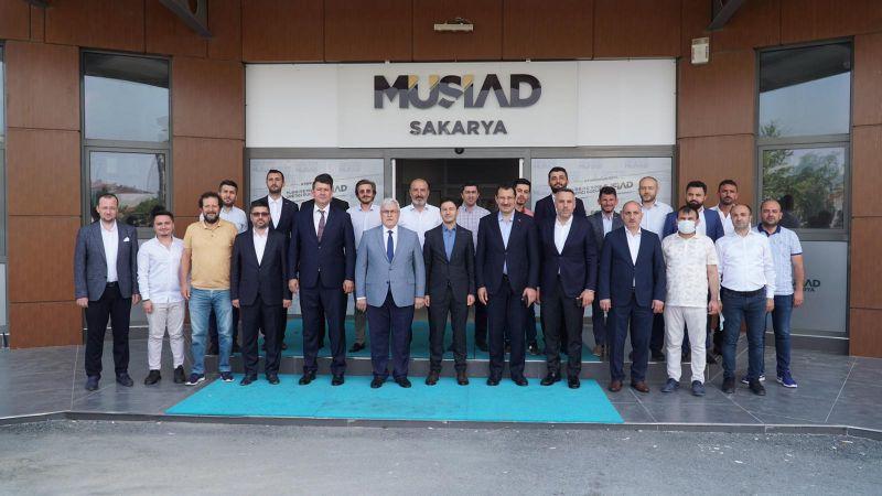 Ali İhsan Yavuz'dan MÜSİAD'a ziyaret