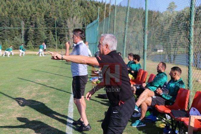 Sakaryaspor ilk hazırlık maçında mağlup 2-3