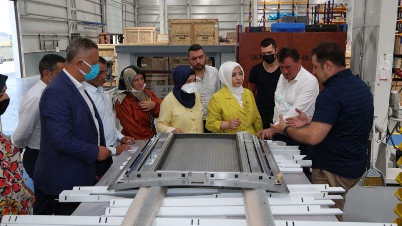 Milletvekili Atabek'ten Ferizli turu
