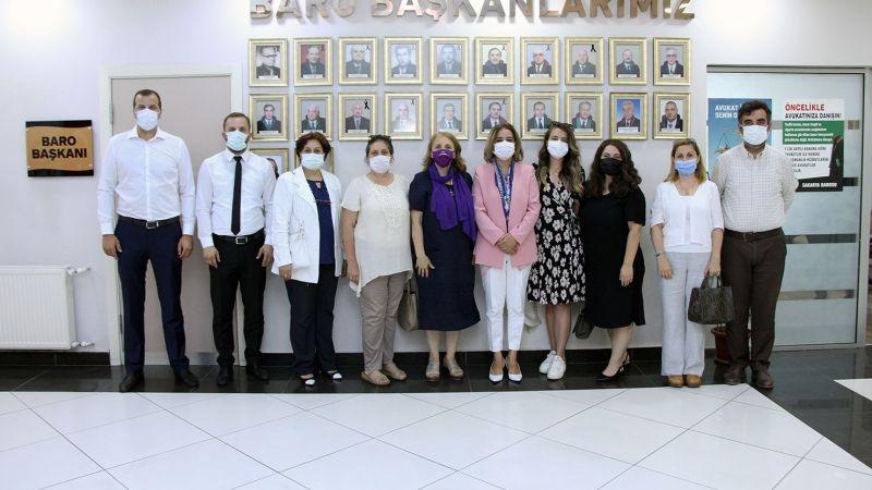 CHP'li Kadınlar ve İYİ Parti Serdivan'dan Yıldız'a ziyaret