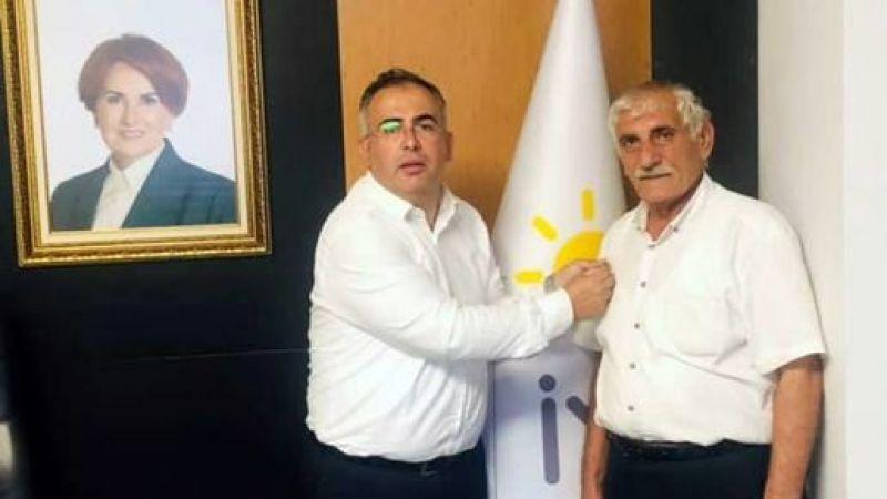 Ak Parti'den istifa edip İYİ Parti'ye geçti
