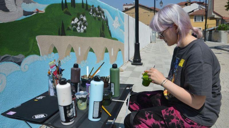 """""""Mona Roza Kültür Yolu"""" kentin simgeleriyle renkleniyor"""