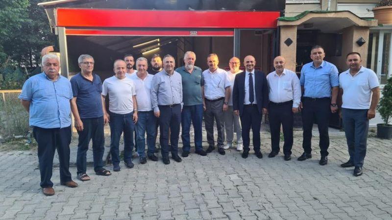 İYİ Parti'den Kocaalililer Derneği'ne ziyaret