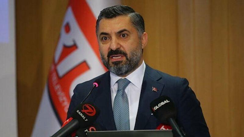 RTÜK Başkanı Şahin'den fon çıkışı