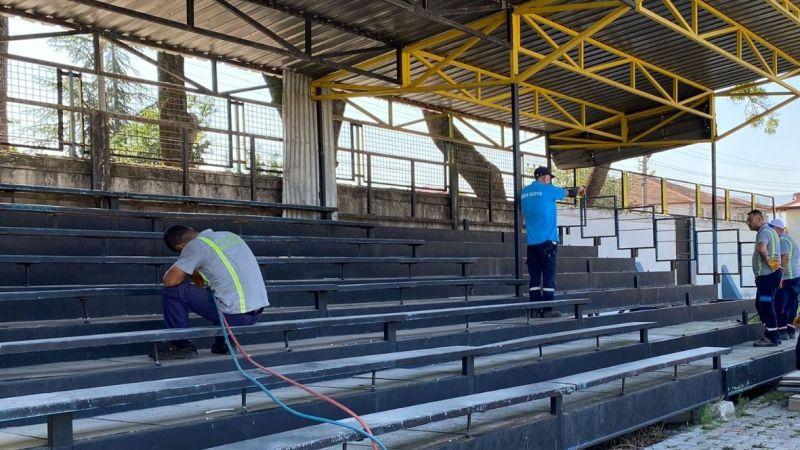 Hendek Stadı 3.Lige hazırlanıyor