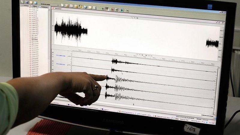Yangın bölgesinde deprem!