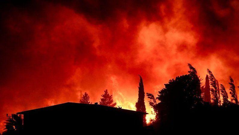 Başkan Tok yangınlarla ilgili konuştu