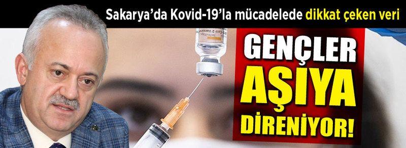 Sakarya'da gençler aşıya direniyor!