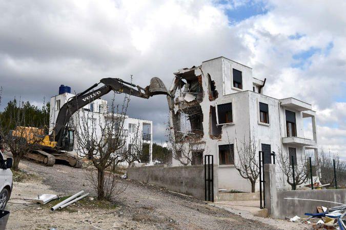 Bina yıkım işi yaptırılacak