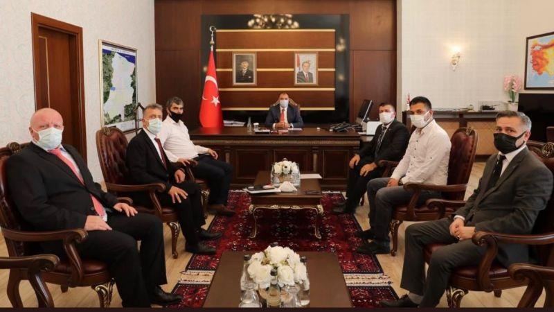 BBP Vali Kaldırım'a şehrin sorunlarını anlattı
