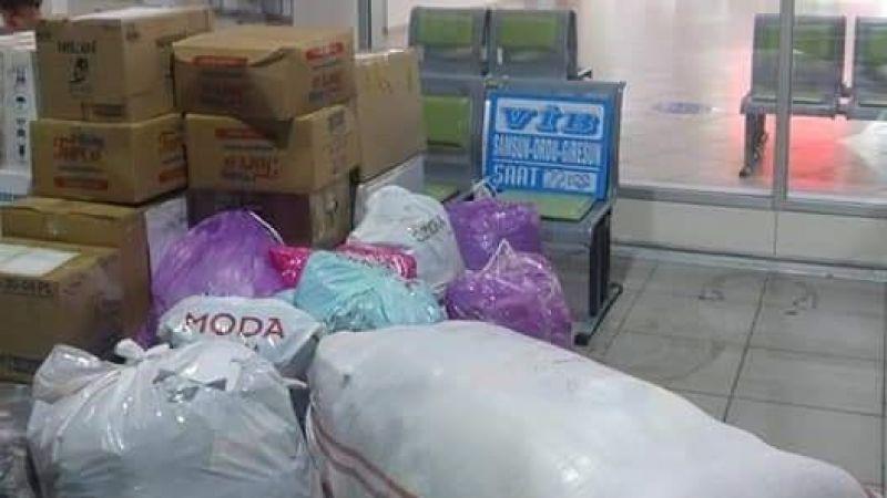 SASÇED'den Manavgat'a yardım