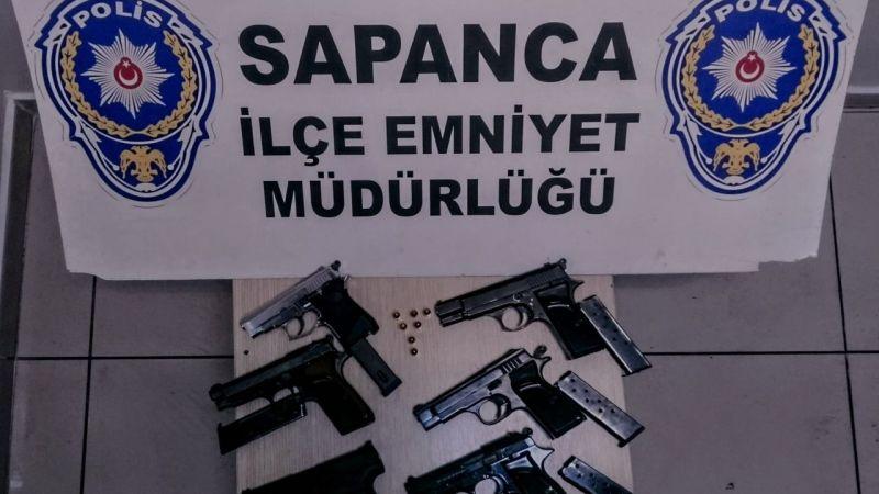 Sapanca'da 5 kişi gözaltına alındı