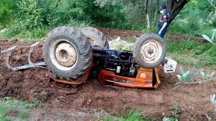 Traktör kazası yine can aldı...