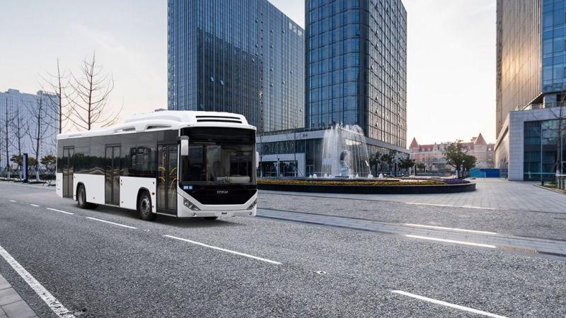 Azerbaycan'ın şehir içi otobüsleri Arifiye'den