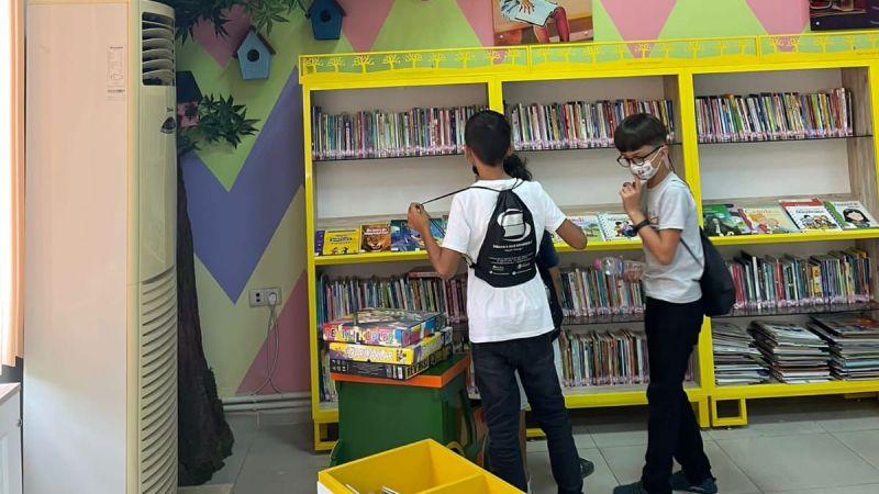 Geyve İlçe Halk Kütüphanesi yenilendi