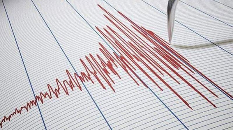 Saat 13.24'te korkutan deprem!