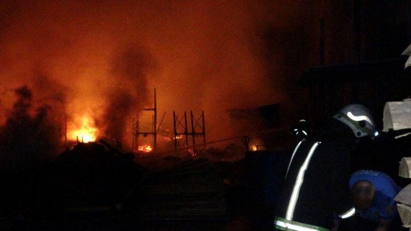 Fabrikada büyük yangın!
