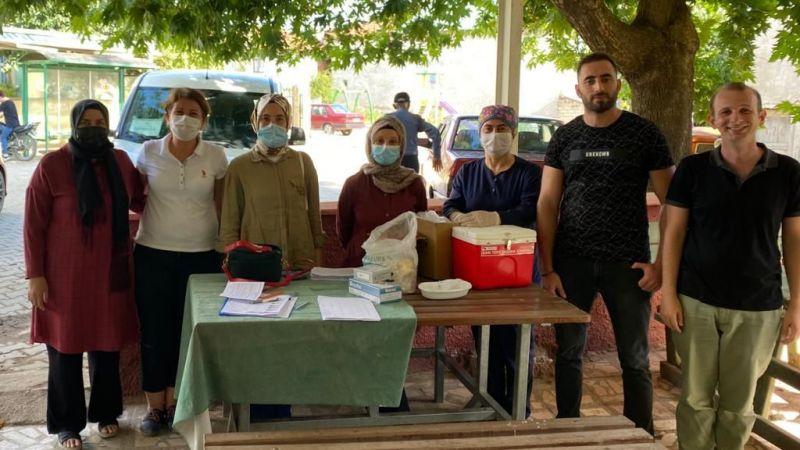 Sakarya'da aşı seferberliği devam ediyor