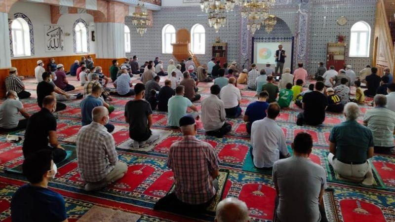Cami cemaatine afet eğitimi