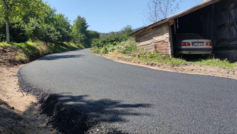 Hendek'te 3 mahalle için asfalt çalışmaları başladı