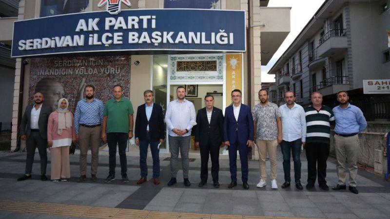 AK Parti Serdivan'a Ankara'dan ağır misafir