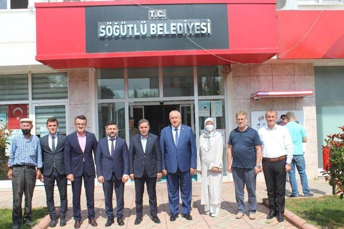 Ahmet Zenbilci'den Söğütlü'ye ziyaret