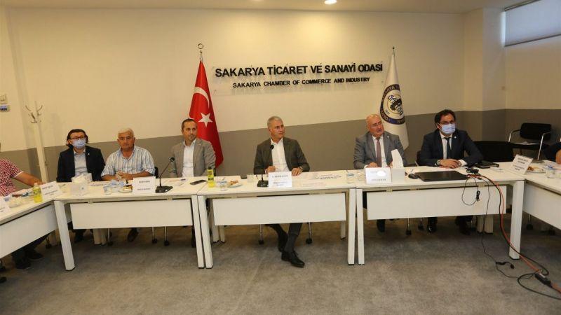 SATSO meslek komitelerinden ortak toplantı