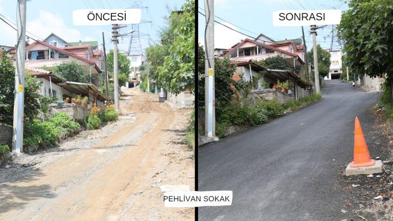 Otuzikievler'de tüm sokakların çehresi yenileniyor
