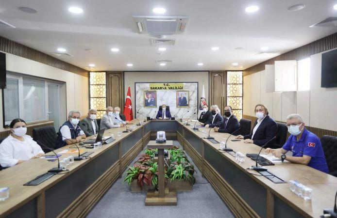 Vali Kaldırım o toplantıya başkanlık etti