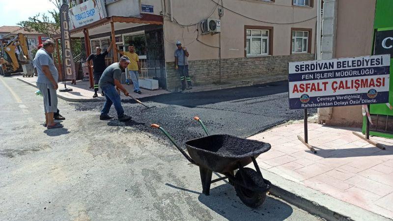 Serdivan'da ekiplerden hafta sonu mesaisi