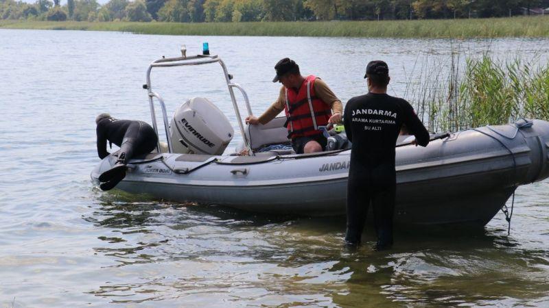 Sapanca Gölü'nden cansız bedeni çıkartıldı