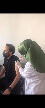 Karagöl yaylasında aşı uygulaması