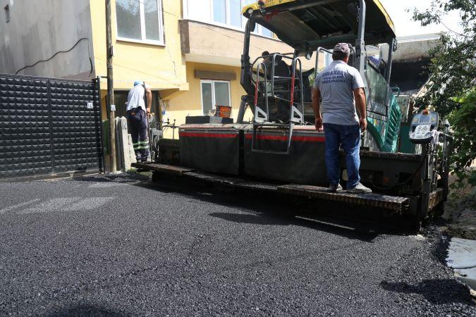 Serdivan Otuzikievler'de Sokaklar Yenileniyor