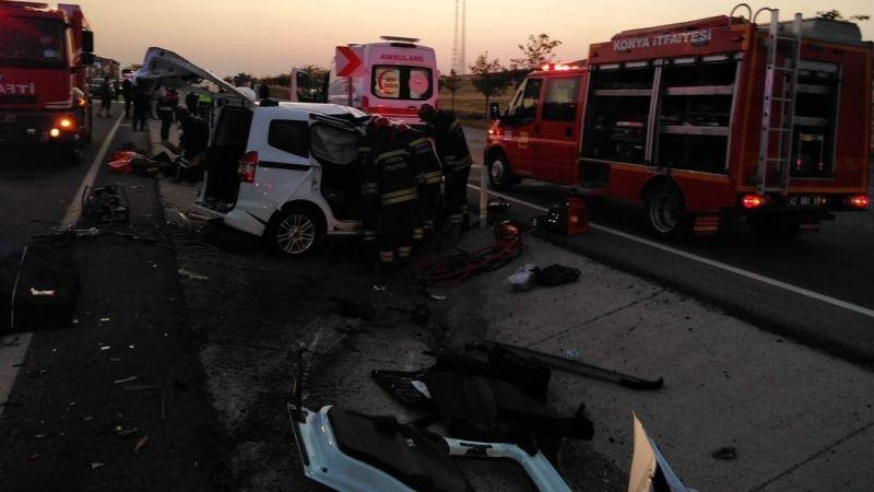 Korkunç kaza! 6 ölü, 2 yaralı