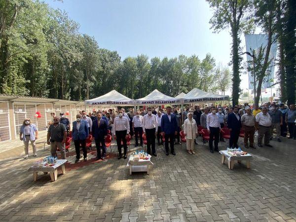 Akyazı'ya Sokak Hayvanları Geçici Bakım evi açıldı