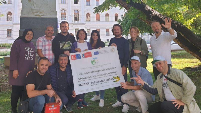 Çevre Projesi için Slovenya'da eğitim aldılar