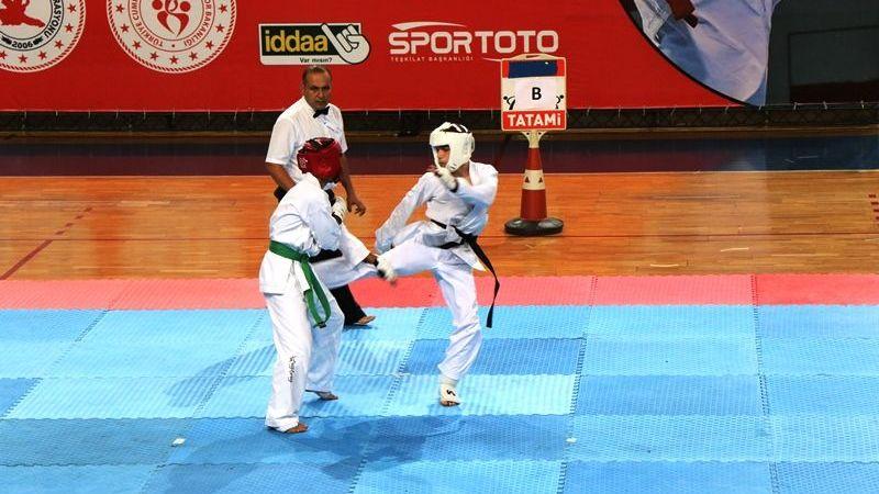 Wushu Türkiye Şampiyonası Sakarya'da yapıldı