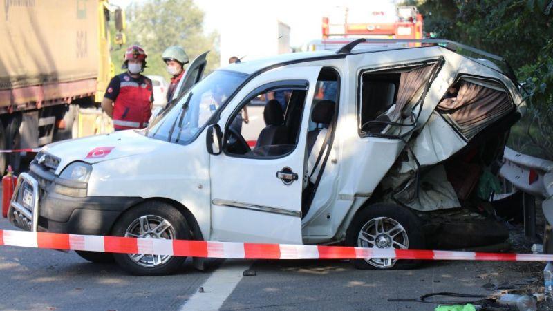 TEM'deki kazada ölü sayısı iki oldu!