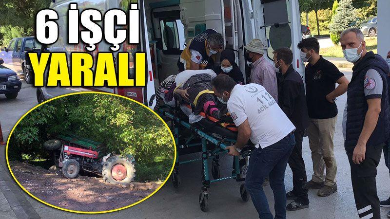 Fındık işçileri ölümden döndü! 6 yaralı...