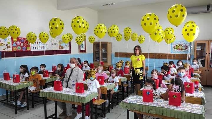Atatürk İlkokulu'nda coşkulu açılış