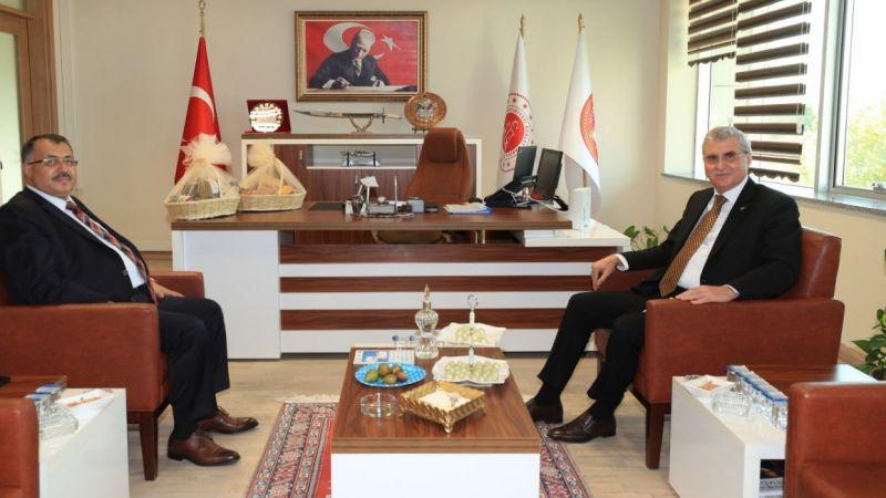 Başkan Yüce'den Cumhuriyet Başsavcısı Yılmaz'a ziyaret