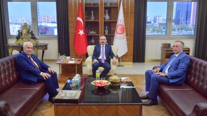 Başkan Balcı'dan Bakan Muş'a ziyaret