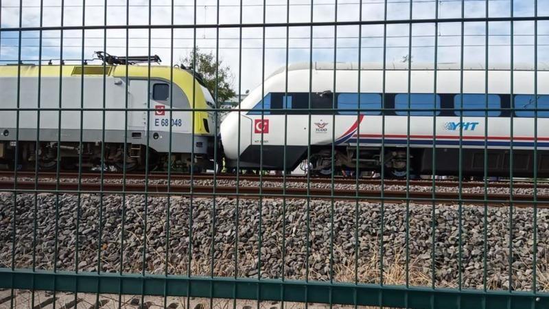 Tren kazasıyla ilgili açıklama