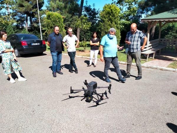 Orman personeline drone eğitimi