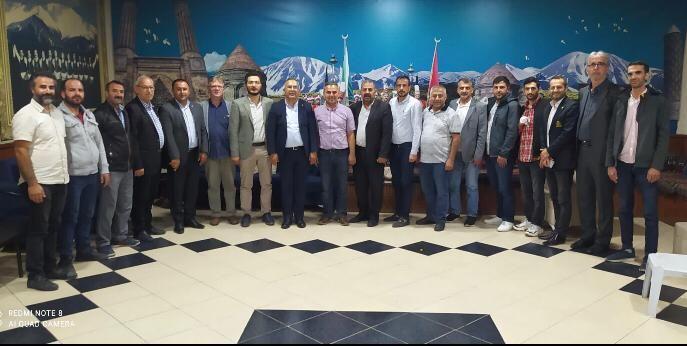 İYİ Parti'den  Sakarya Erzurumlular Derneğine ziyaret